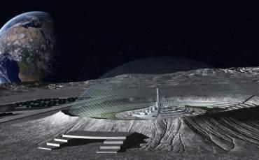 Avrupa Uzay Ajansı Ay Kasabası Kuruyor