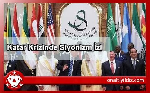 Katar Krizinde Siyonizm İzi