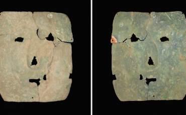 3000 Yıllık Bakır Maske Bulundu