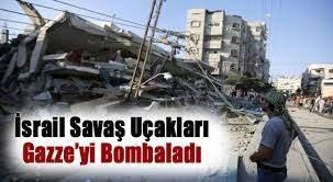 Gazze, Bayram Günü İsrail Tarafından Bombalandı