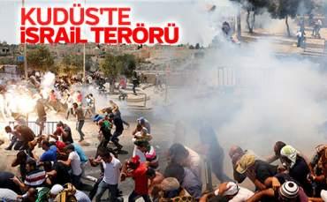 İsrail, Kudüs'te Müslümanlar'a Saldırdı