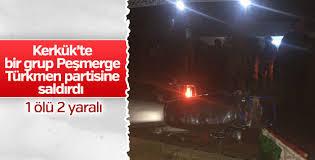 Kerkük'te Peşmerge Türkmenlere Saldırdı!