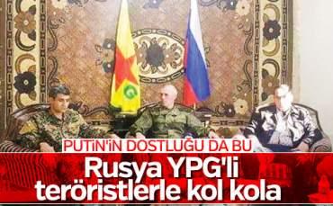 Rusya YPG Dostluğu!