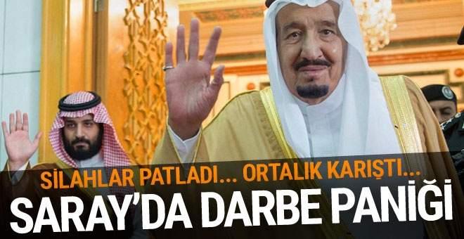 Suudi Sarayında Askeri Hareketlilik