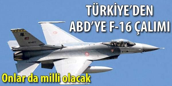 Türk F-16'sında Milli Yazılım Kullanılacak
